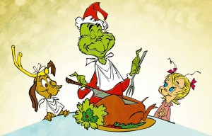 grinch eating
