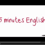 5 minutes English, Vidéo de Prononciation.