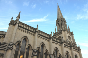 St Michael's Church, Bath. Photograph by Hugo Pearce
