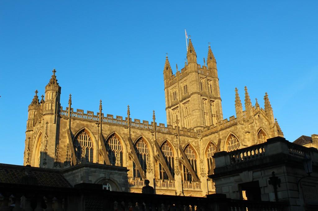 La Célèbre Bath Abbey - Photographie par Hugo Pearce